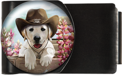 Dog in Cowboy Hat
