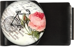 Bicycle with Rose