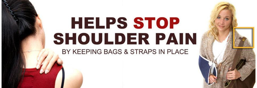 Stop shoulder pain because of heavy bags