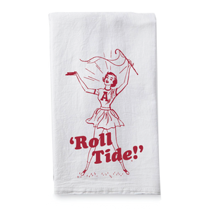Cheerleader Dish Towel