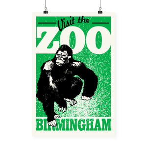 """Visit The Zoo"" Print"