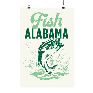 """Fish Alabama"" Print"
