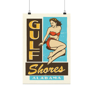 """Gulf Shores Alabama"" Print"