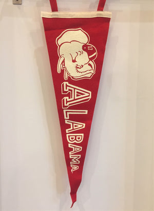 """Big Al"" Alabama Pennant"