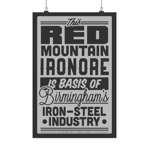 """Red Mountain Sign"" Print"