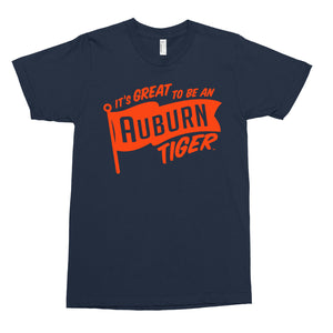 """It's Great to Be an Auburn Tiger"" T-shirt"