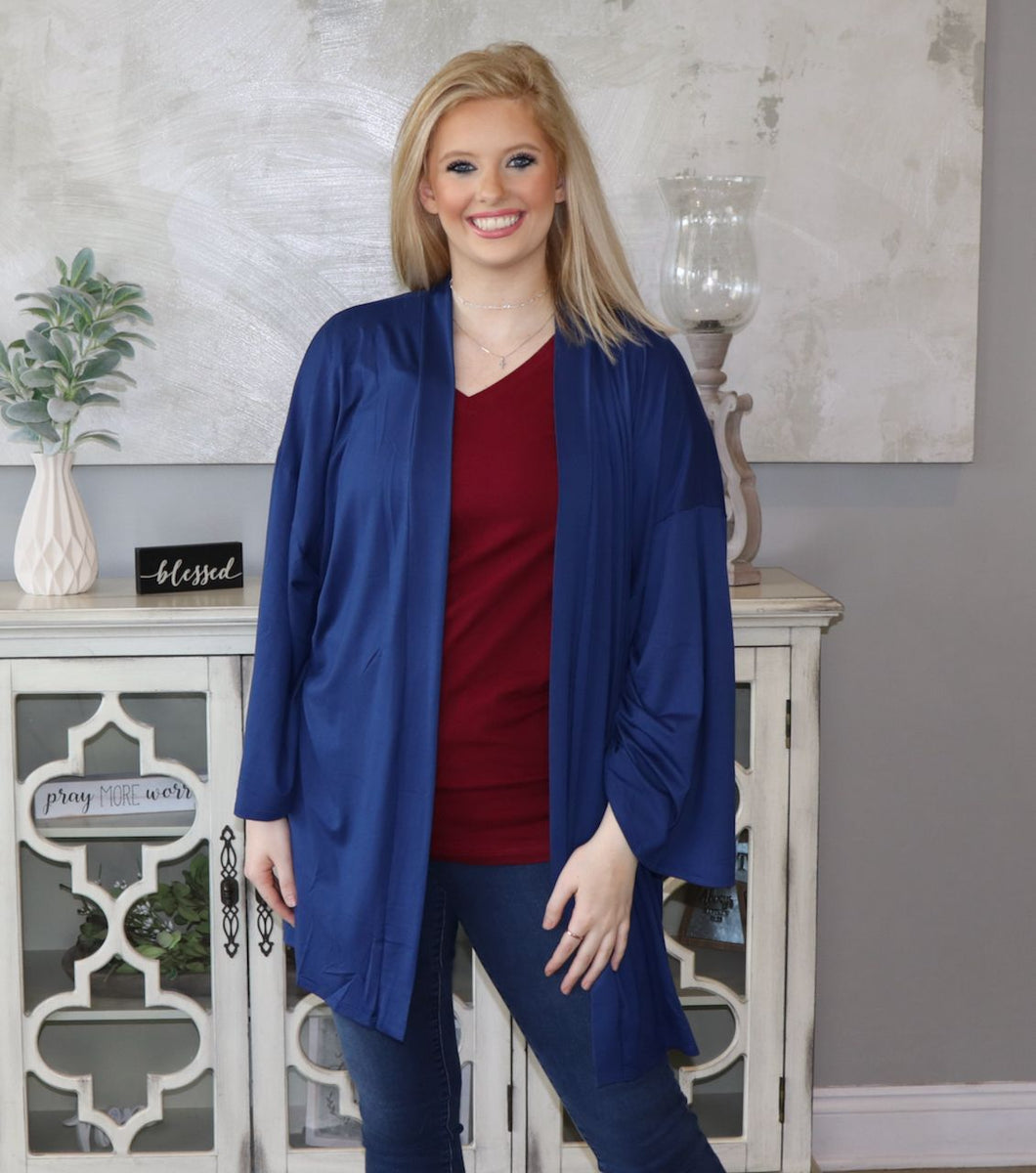 Everyday Addition Cardigan- Multiple Colors