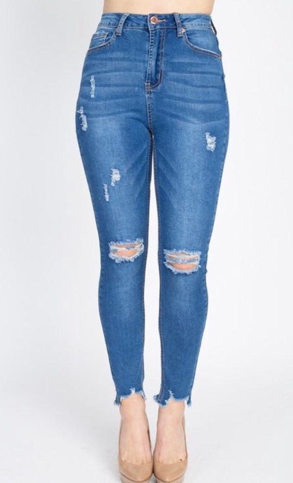 Missing You Jeans - Medium Wash