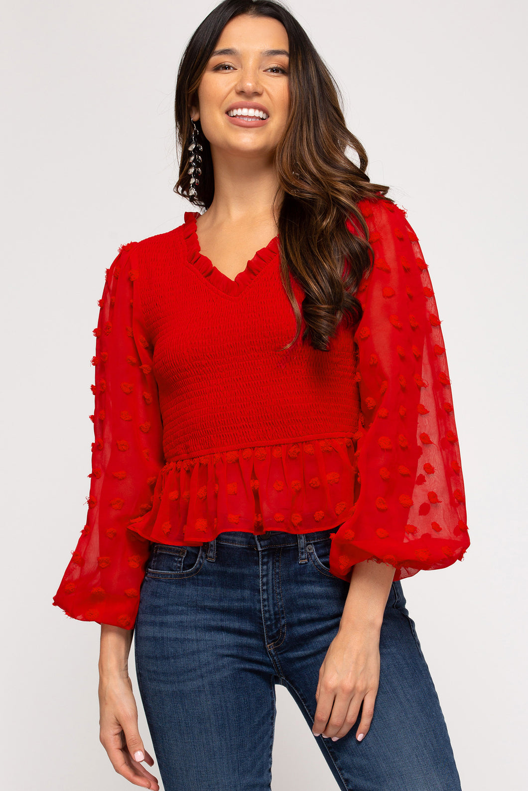 Be My Valentine Top - Red
