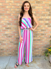 Load image into Gallery viewer, Pastel Springs Jumpsuit - Purple Pallet