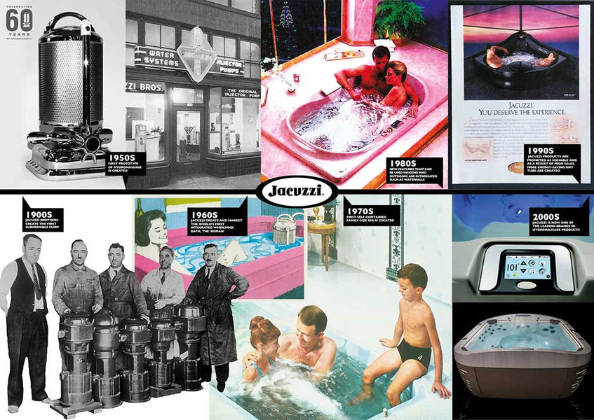 Jacuzzi Through The Years