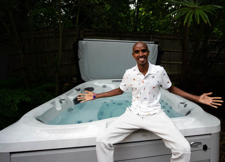 Sir Mo Farah the latest high-profile GB athlete to partner with Jacuzzi
