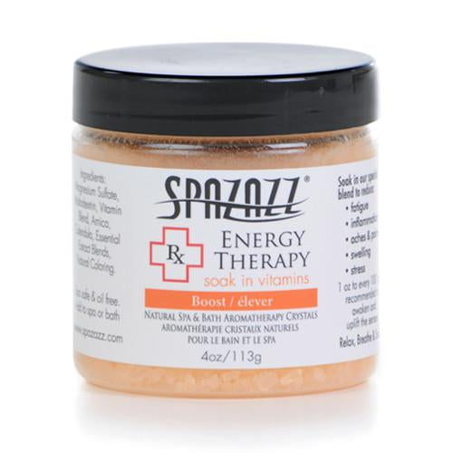 Spazazz 'Rx Therapy' Range Spa Crystals - Energy Therapy (Boost)