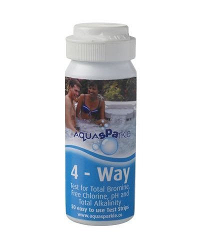 AquaSPArkle 4-Way Test Strips