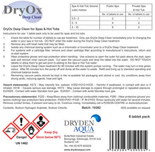 DryOx Deep Clean - Biofilm Eliminator