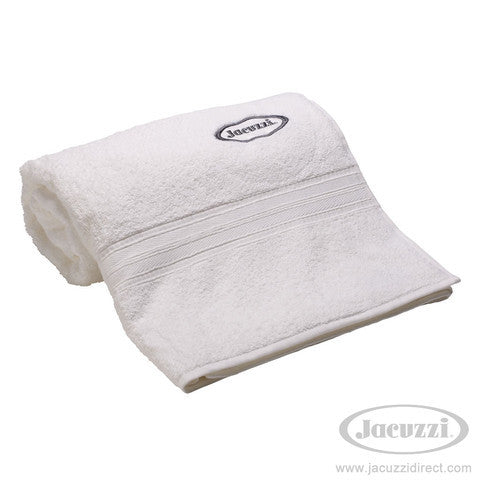 Jacuzzi Bath Towel White