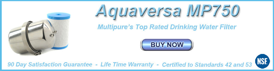 Multipure Water Filters - Carbon Block