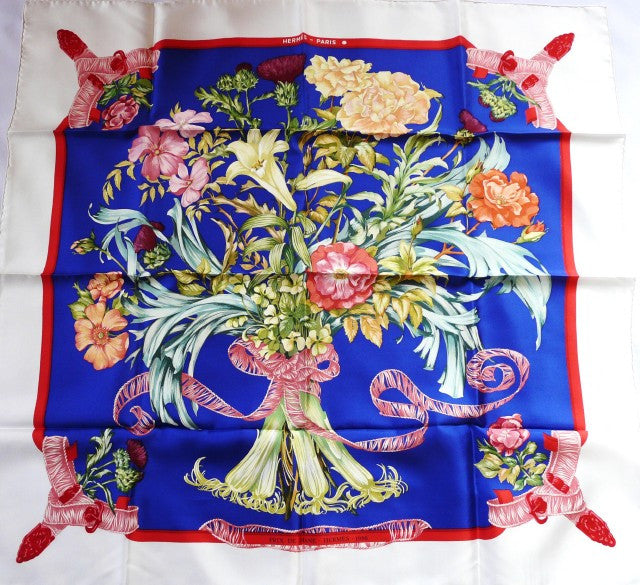 Authentic VTG Hermes Silk Scarf Regina Prix de Diane - Hermes - 1986 Limited Edition