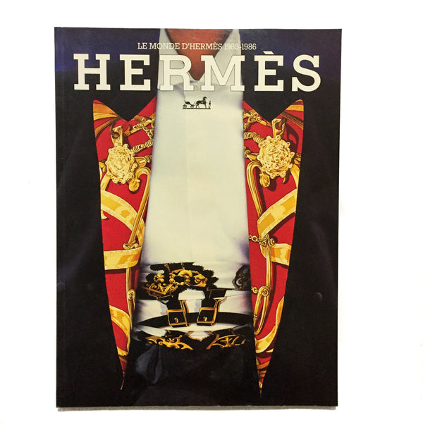 Le Monde d'Hermès Magazine Year of Issue - 1985-1986