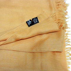 Cashmere Wool HERMES unisex Stole with H