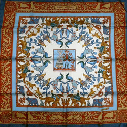 Early America HERMES Paris Scarf UNWORN