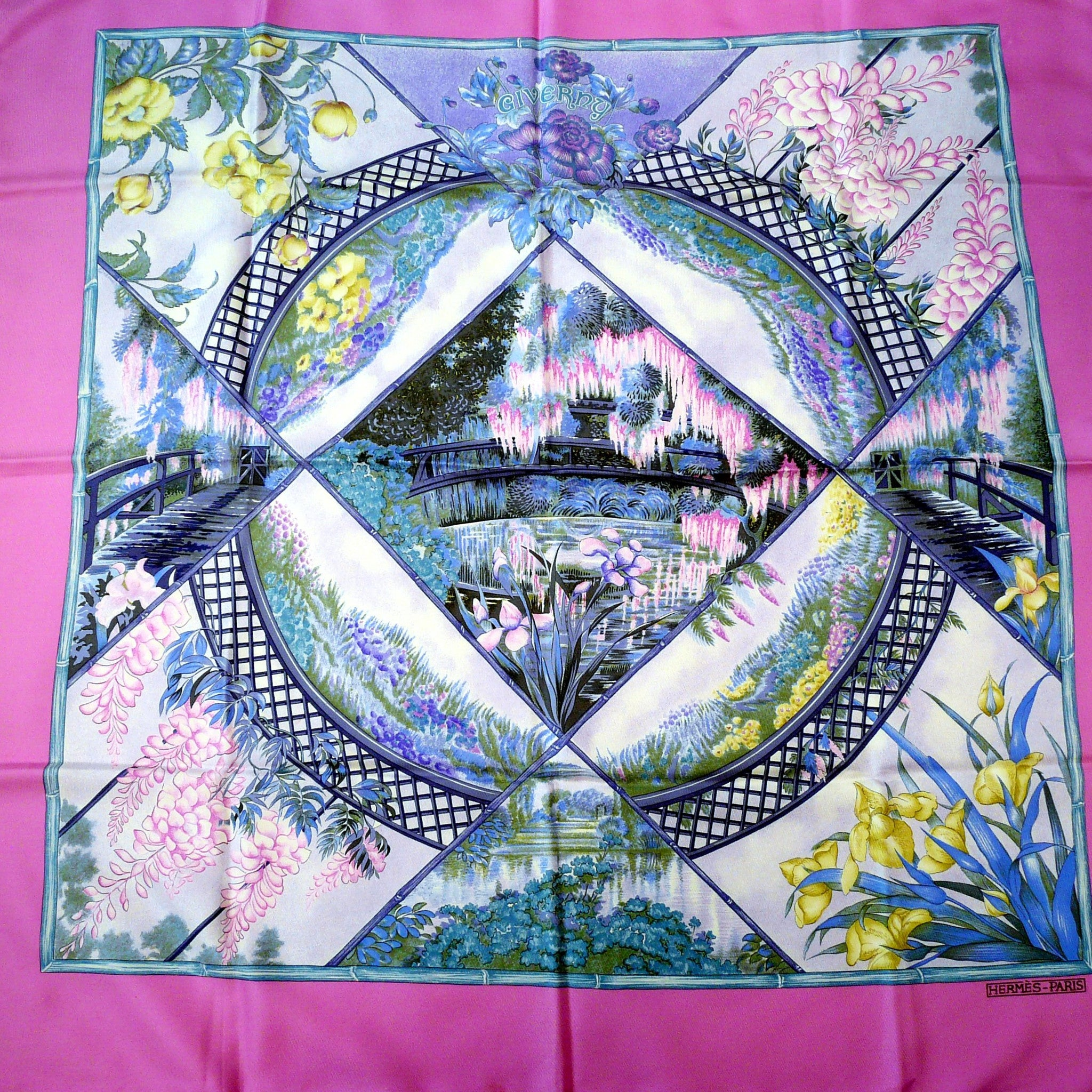 Giverny HERMES Paris 36 inch Scarf
