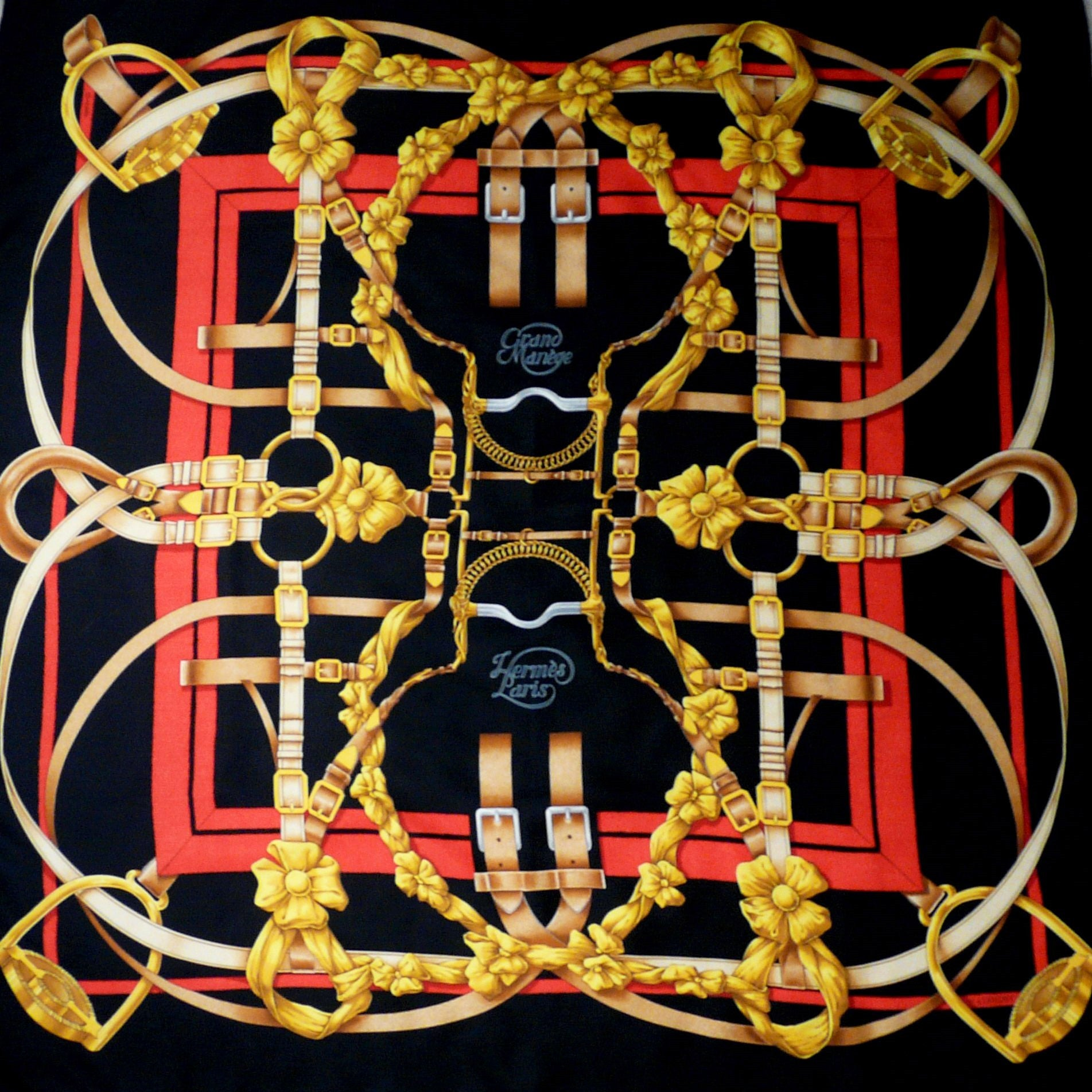 Grand Manege HERMES Silk Scarf