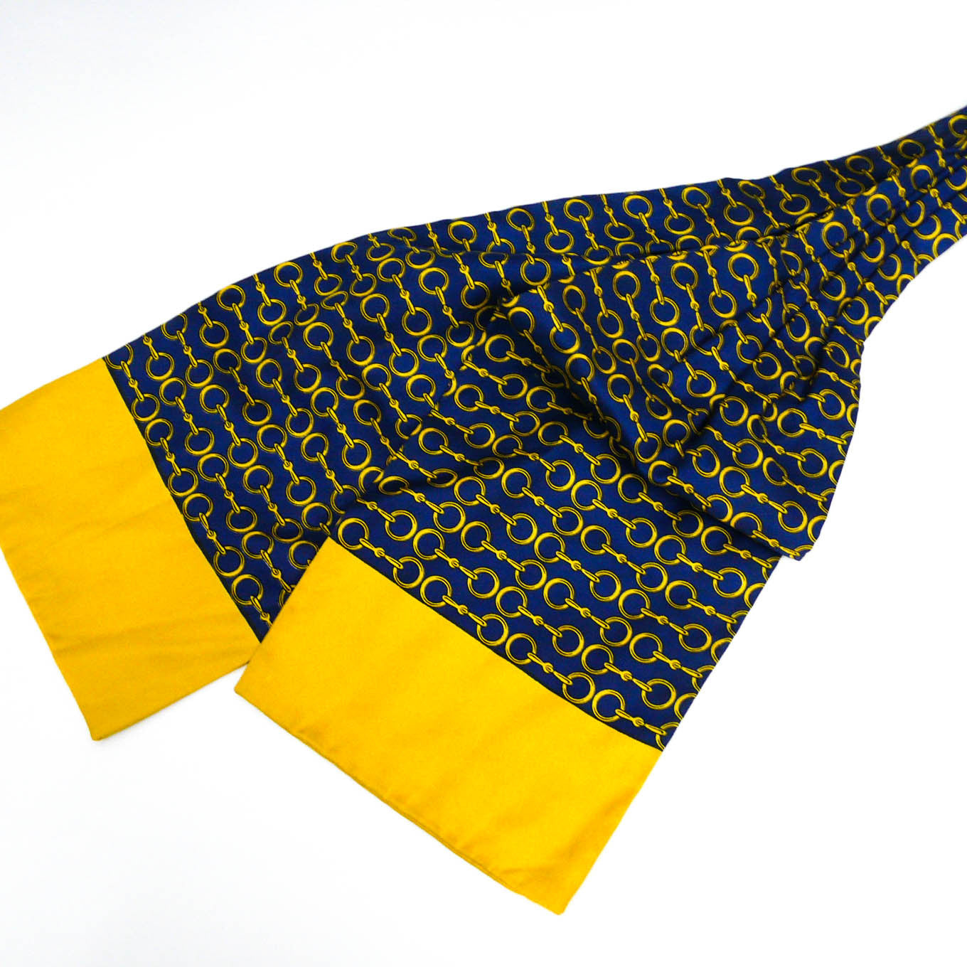 Hermes Ascot Yellow Blue CW