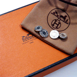 Hermes Cufflinks with pouch and box