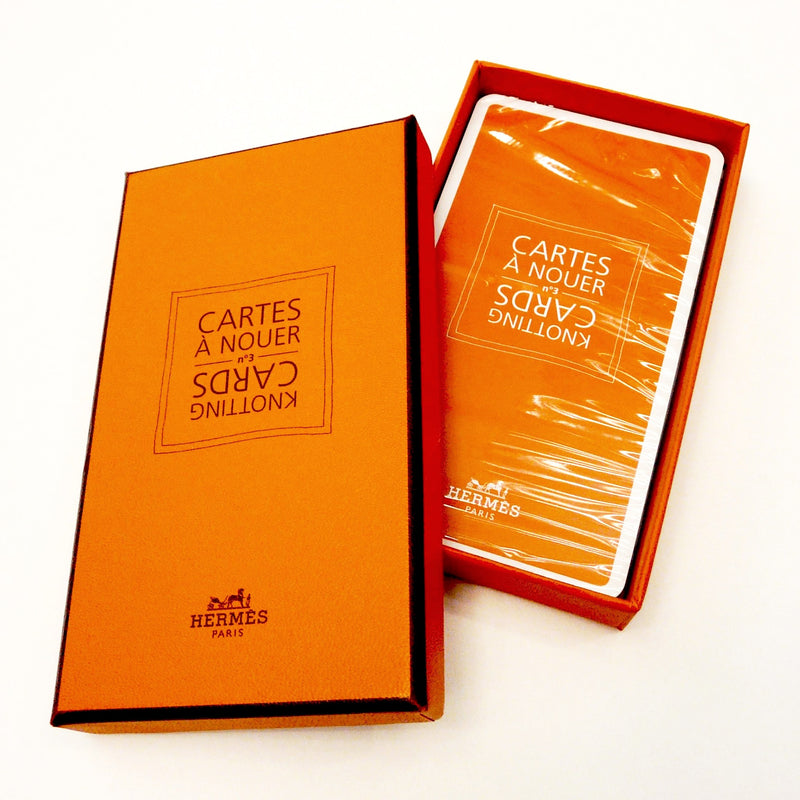 Hermes Knotting cards