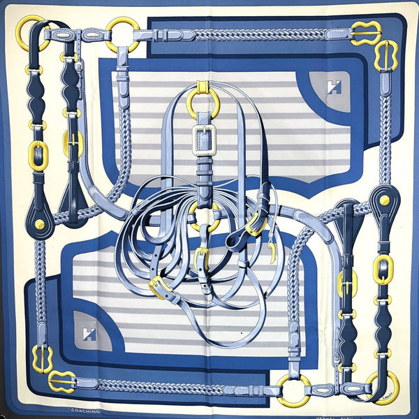 Coaching Hermes scarf