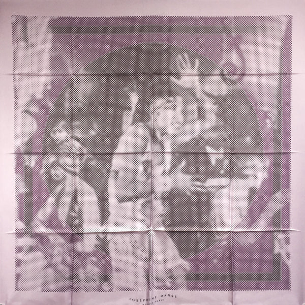 Josephine Danse Hermes Silk Scarf Lilac from 2007