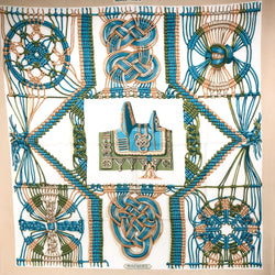 Macrame Hermes Scarf was first issued in 1970