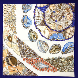 Hermes Silk Scarf Rocaille II Detail 90cm Twill