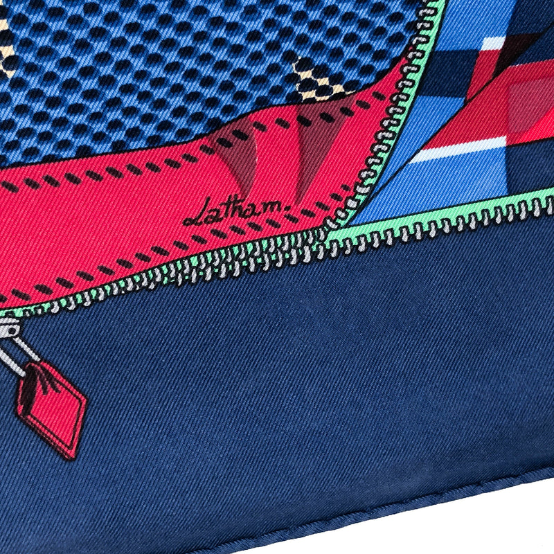 L'Elegance et le Confort en Automobile Hermes Silk Scarf was designed by Caty latham - signature