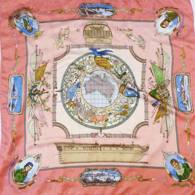 Le Geographe Hermes Scarf - SOLD