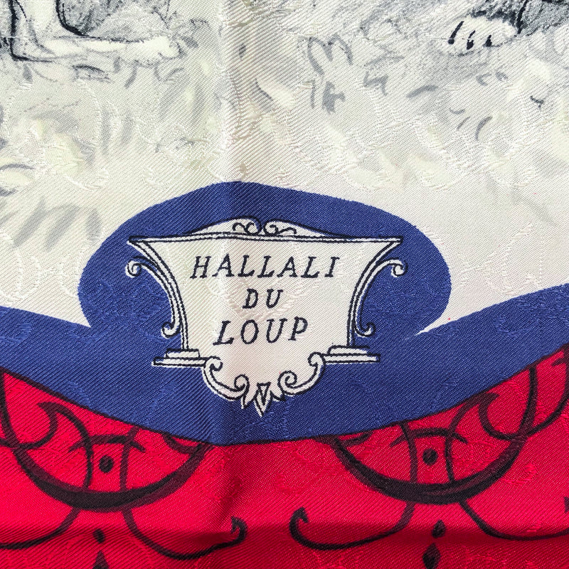Hallali du Loup as the Louveterie Royale Hermes scarf is sometimes mistakenly called