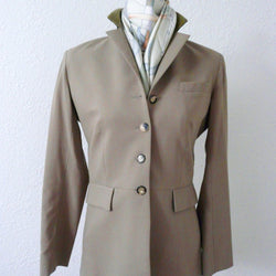 Hermes vintage riding jacket