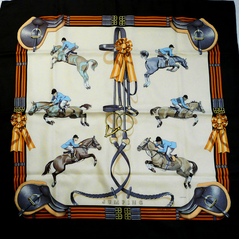 Jumping HERMES Scarf comes with Box