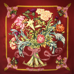 Regina Hermes Silk Scarf (100% silk) - Early Issue from 1972