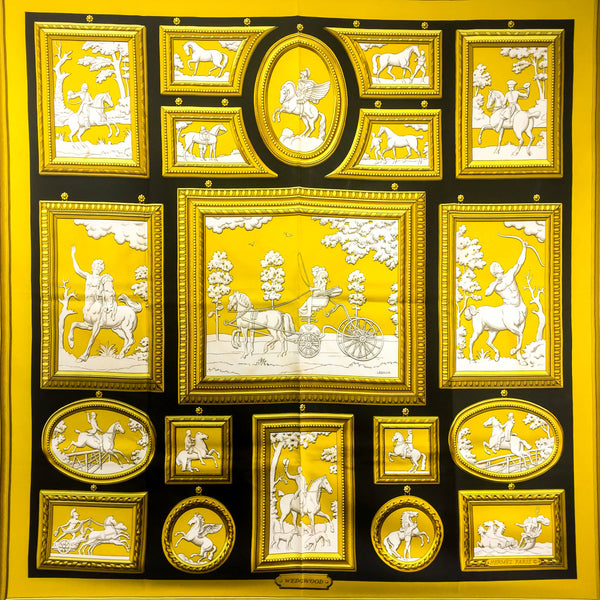 Hermes Silk Scarf Wedgwood Early Issue