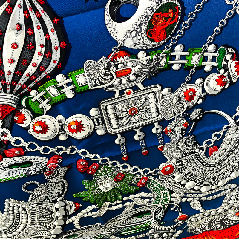 Hermes Silk Scarf Zenobie, Reine de Palmyre - visit my Hermes scarf Blog for the history behind this design