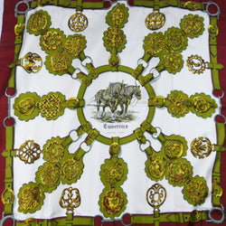 Vintage Hermes Silk Scarf Cuivreries Early Issue