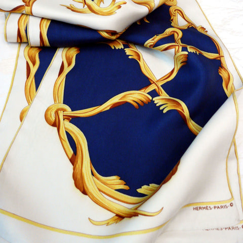 Crown Opera Scarf Hermes