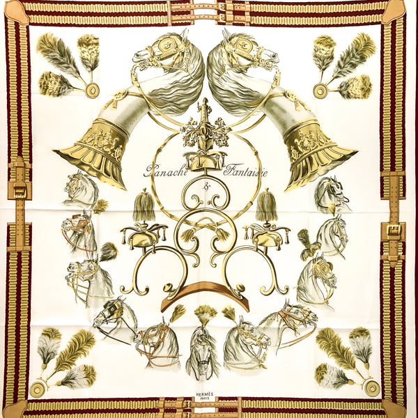 Panache & Fantaisie Hermes Scarf by Hugo Grygkar RARE Early Issue