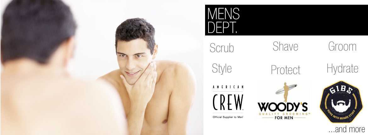 Mens Department at RxSkinCenter