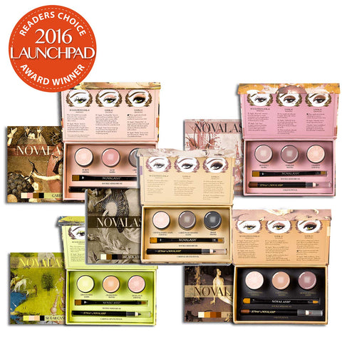 Novalash 24 Hour Cream Shadow Triptychs Palettes