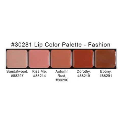 Graftobian HD Lip Color Palette