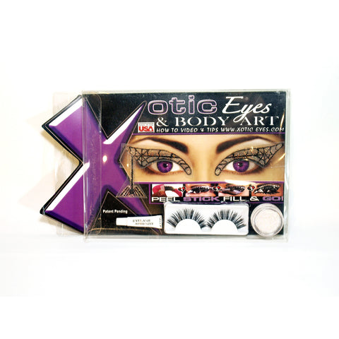 Black Widow Eyes - Lash and Eye Mask Kit by Xotic Eyes by Xotic Eyes | RxSkinCenter Day Spa Overland Park, Kanas
