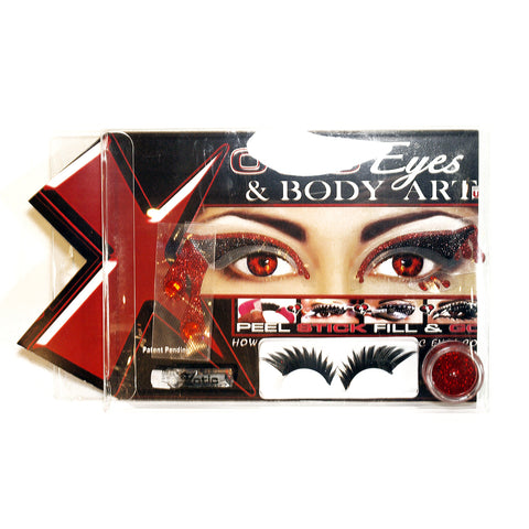 Blood Lust Eyes - Lash and Eye Mask Kit by Xotic Eyes Special Effects | RxSkinCenter Day Spa Overland Park, Kanas